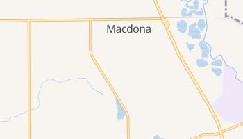 Macdona, Texas map