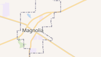 Magnolia, Texas map