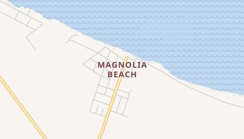 Magnolia Beach, Texas map