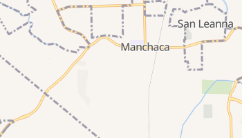 Manchaca, Texas map