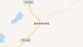 Manning, Texas map