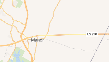 Manor, Texas map