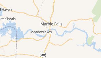 Marble Falls, Texas map