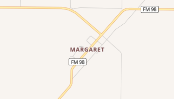 Margaret, Texas map