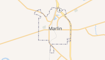 Marlin, Texas map