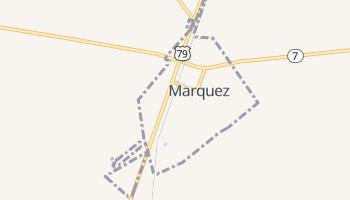 Marquez, Texas map