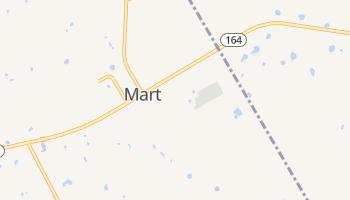 Mart, Texas map