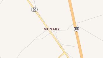 McNary, Texas map