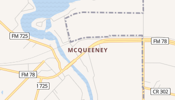 McQueeney, Texas map