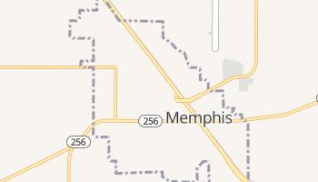 Memphis, Texas map