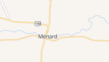 Menard, Texas map
