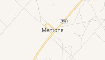 Mentone, Texas map