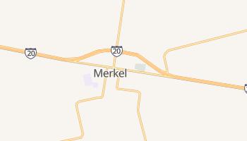Merkel, Texas map
