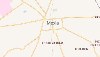 Mexia, Texas map