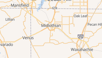 Midlothian, Texas map