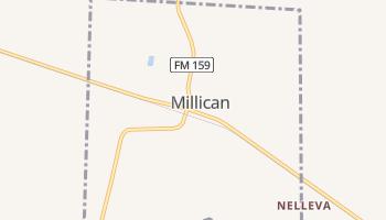 Millican, Texas map