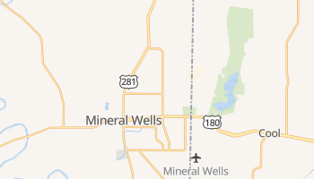 Mineral Wells, Texas map