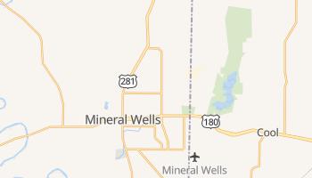 Mineral Wells, Texas map