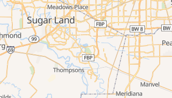 Missouri City, Texas map
