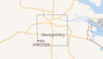 Montgomery, Texas map