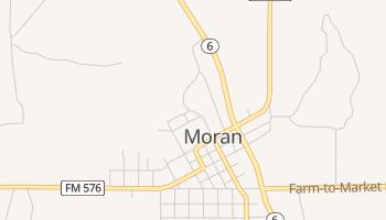 Moran, Texas map