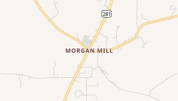 Morgan Mill, Texas map