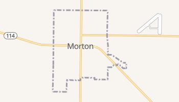 Morton, Texas map