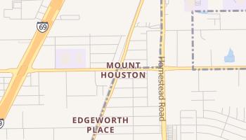 Mount Houston, Texas map