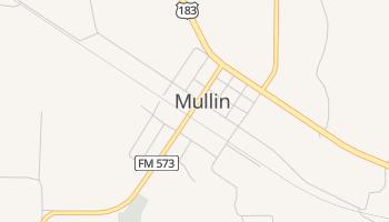 Mullin, Texas map