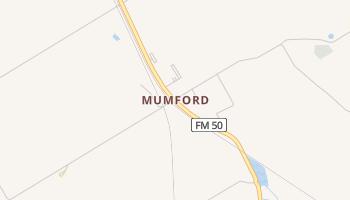 Mumford, Texas map
