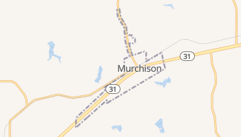 Murchison, Texas map