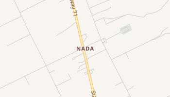 Nada, Texas map