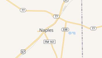 Naples, Texas map