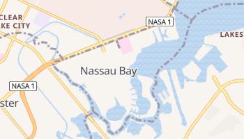 Nassau Bay, Texas map
