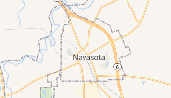 Navasota, Texas map