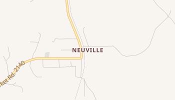 Neuville, Texas map