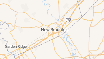 New Braunfels, Texas map
