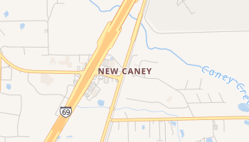 New Caney, Texas map