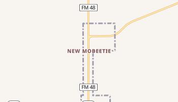 New Mobeetie, Texas map