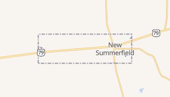 New Summerfield, Texas map