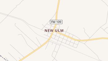 New Ulm, Texas map