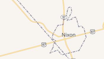 Nixon, Texas map