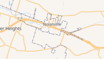 Nolanville, Texas map