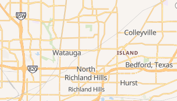North Richland Hills, Texas map
