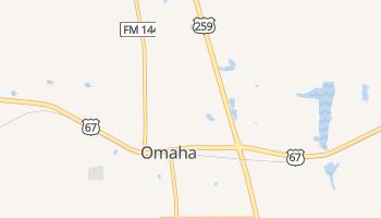 Omaha, Texas map