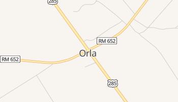 Orla, Texas map