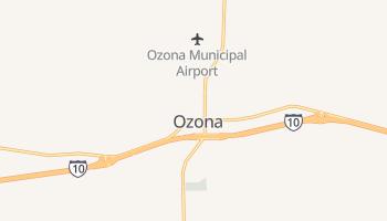 Ozona, Texas map