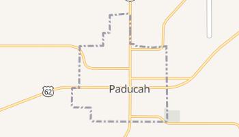 Paducah, Texas map