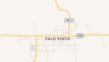 Palo Pinto, Texas map