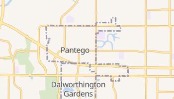 Pantego, Texas map